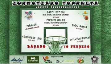La magia del baloncesto en la Zornotzako Topaketa